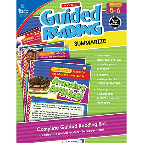 Ready to Go Guided Reading: Summarize, Grades 5 - 6