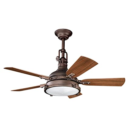 Kichler 310101wcp patio 44 inch hatteras bay patio fan weathered kichler 310101wcp patio 44 inch hatteras bay patio fan weathered copper powder coat aloadofball Image collections