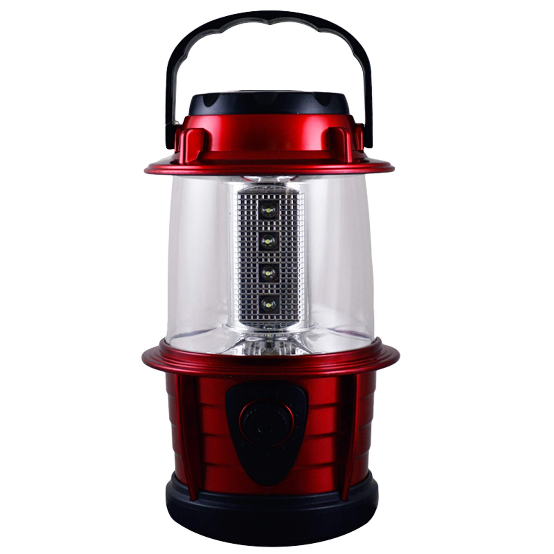 (Pack of 24) Led Lantern 12 LED, Dimmable, Assorted Colors