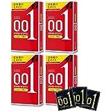 【4箱】オカモトゼロワン0.01ミリLサイズ 3個入りx4箱(4547691775122-4)