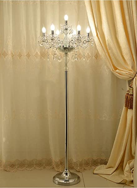 Uncle Sam Li European Luxury Crystal Floor Lamp Fashion Marriage