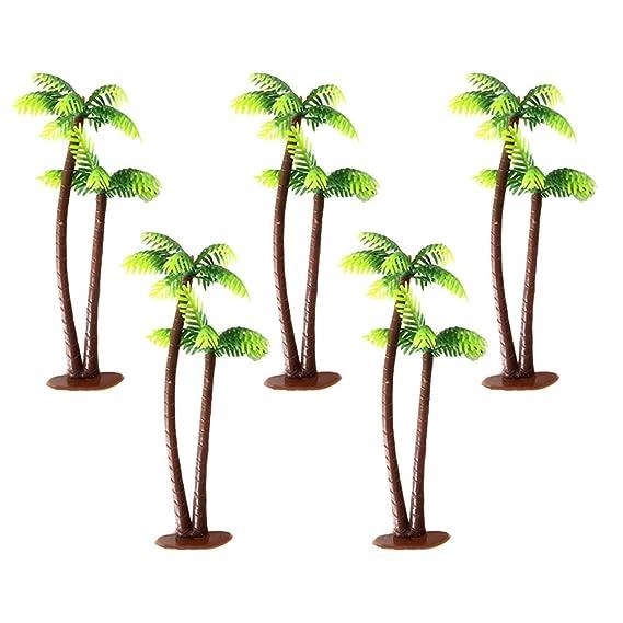 12 Plastikmodell Tropische Palmen Regenwald Layout Zug Landschaft
