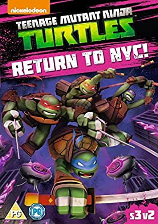 Teenage Mutant Ninja Turtles: Return To NYC DVD 2014: Amazon ...