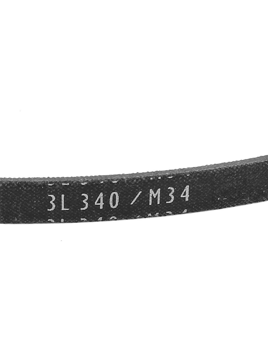 sourcingmap/® Machine Industrielle Remplacement courroie transmission V M34 3//8 x 34
