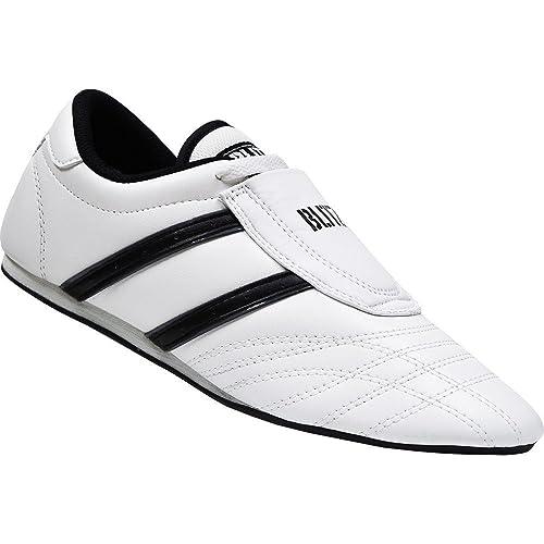 finest selection cc90c cc16b Blitz - Zapatillas de artes marciales de Piel para hombre negro negro, color  negro, talla 18 Amazon.es Zapatos y complementos