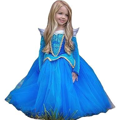 JTENGYAO Kinder Mädchen Prinzessin Kleid Halloween Party Kostüm ...