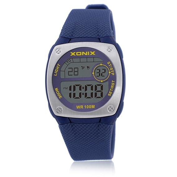 Niña Reloj led,100m resistente al agua Relojes digitales Luminoso Con reloj de alarma 24 horas Cronómetro Piscina Calendario Multifunción Niña-E: Amazon.es: ...