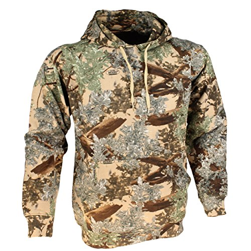 King's Camo Cotton Hunting Hoodie, Desert Shadow, (La Kings Sweatshirt)