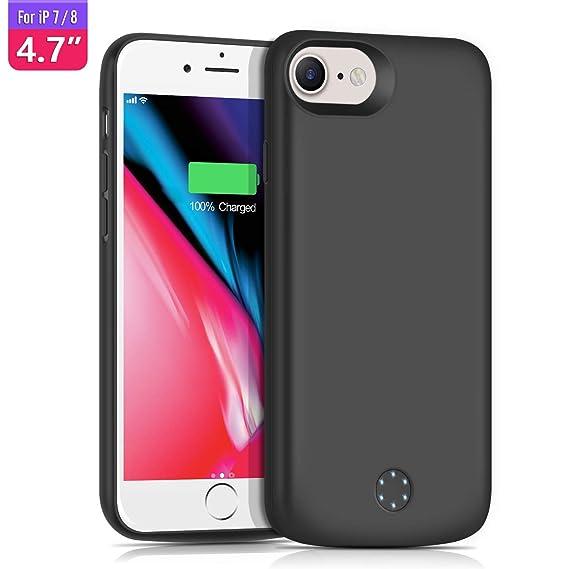 Amazon.com: TAYUZH - Funda para iPhone 6S / 7 / 8 (batería ...