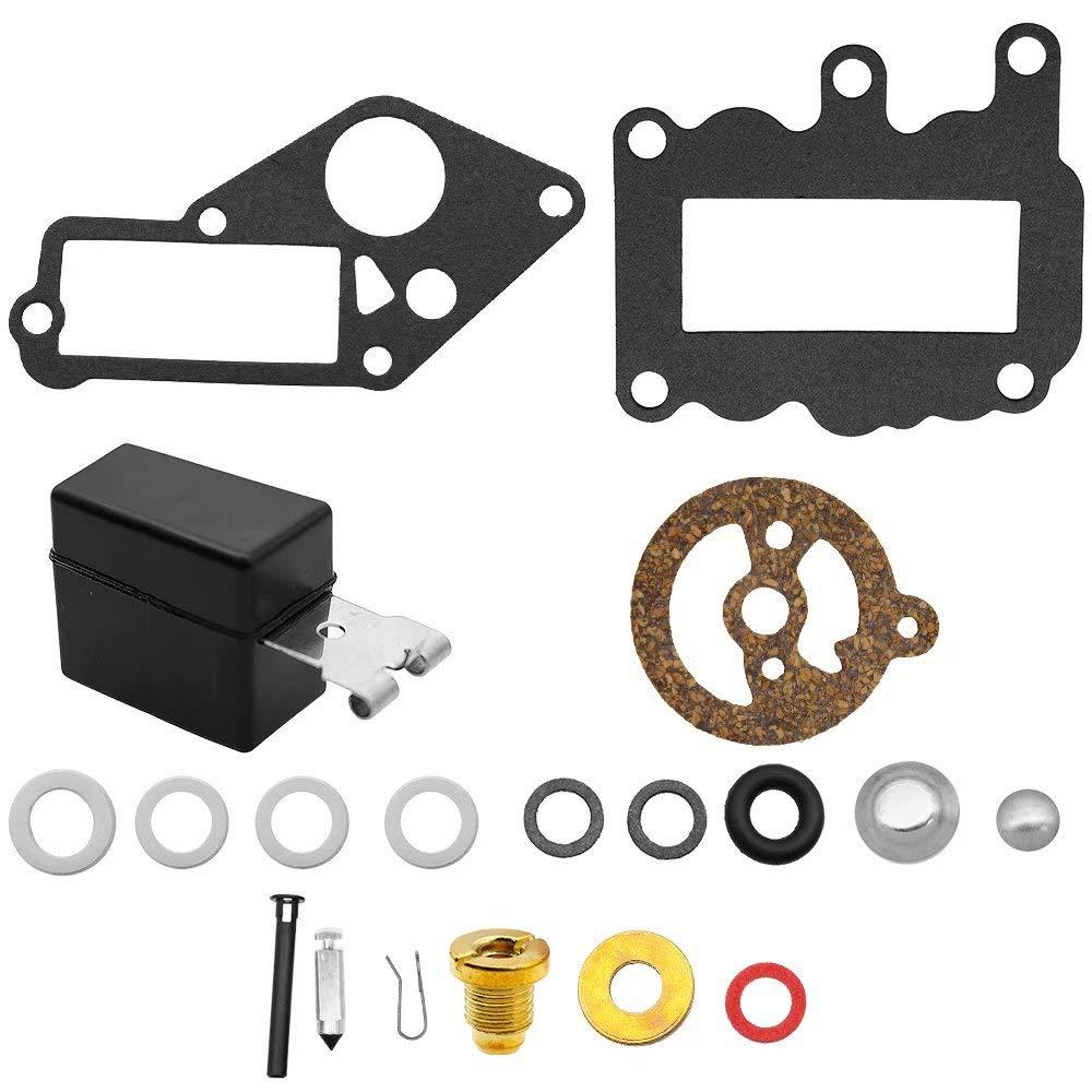 Jahyshow Carburetor Carb Kit Rebuild//Repair For Johnson Evinrude 9.5 HP 1964-1973 BRP OMC,382048
