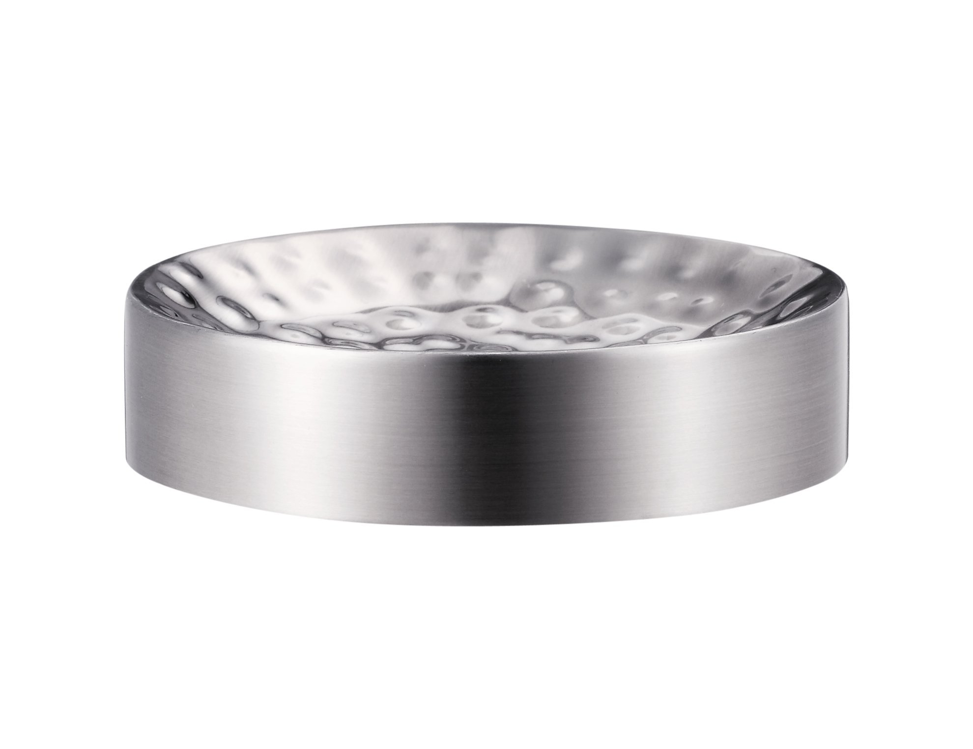 Five Queens Court Parker Metal Bathroom Accessories Collection - Soap Dish - In Silver or Oil Rubbed Bronze