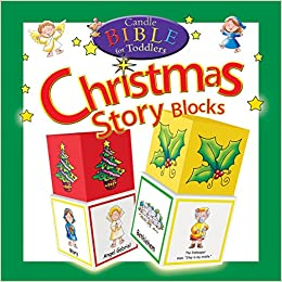 candle bible for toddlers christmas story blocks 9781859857649 amazoncom books - Christmas Story For Toddlers