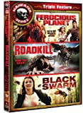 Maneater Triple Feature (Ferocious Planet / Roadkill / Black Swarm) by Various