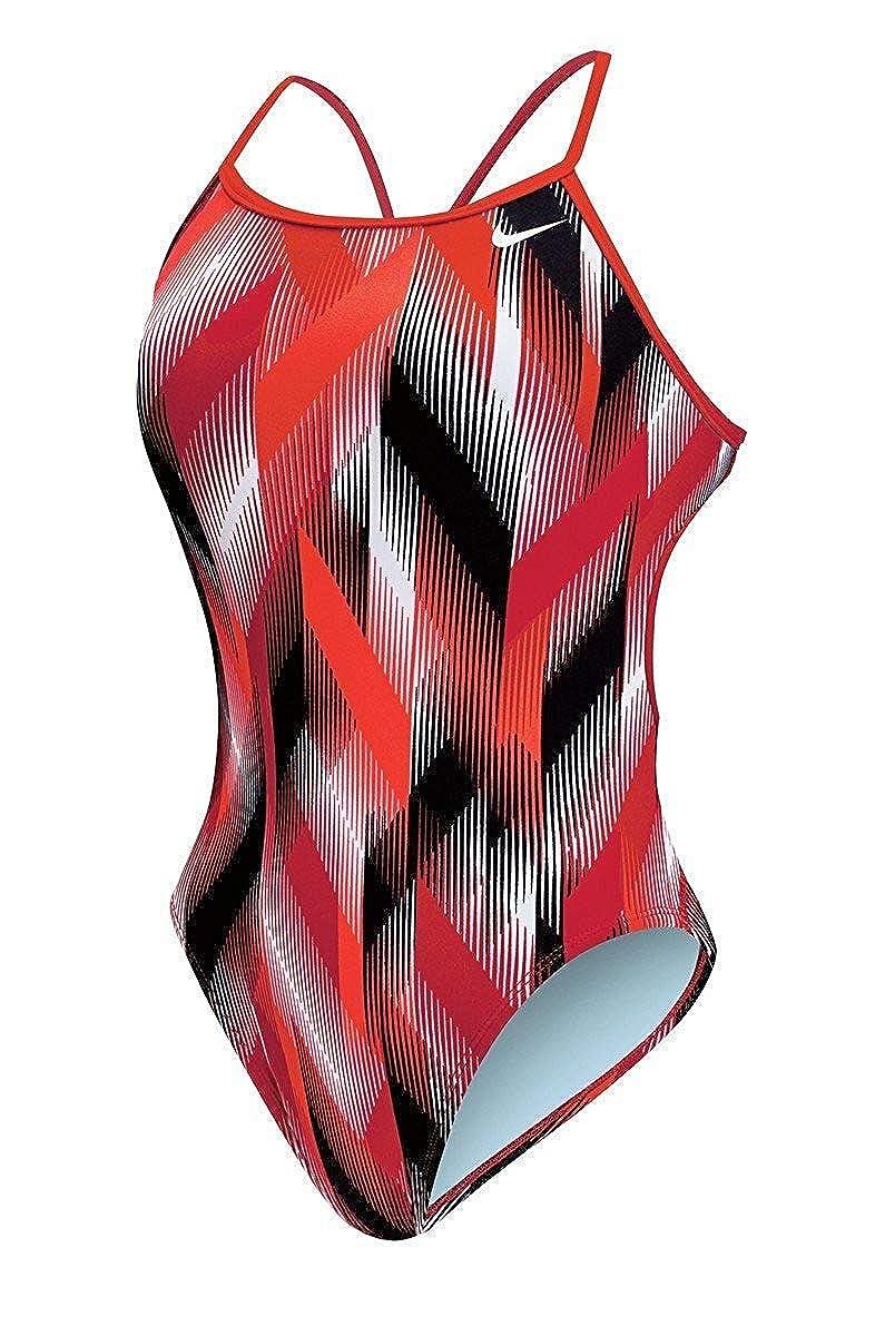 f801f11ad1f Amazon.com: Nike Women's Beam Modern Cut-Out Tank Swimsuit: Sports &  Outdoors