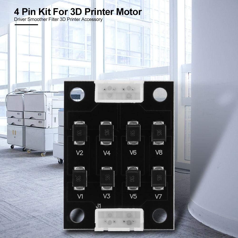 Kit de 4 pines para impresora 3D con filtro 3D para motor de ...