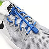 Elastic No Tie Shoelaces for Kids and Adults, Durable with Lock System, Best Lock Shoelaces for Running and Walking Shoes, Ideal for Runners and Sneakers.Fit Most Shoes,Replacement Choice