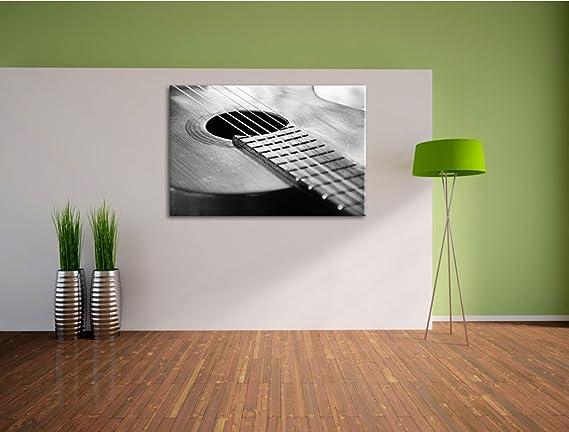 Cuerdas de la guitarra en la boca de la guitarra Lienzo, XXL Fotos ...