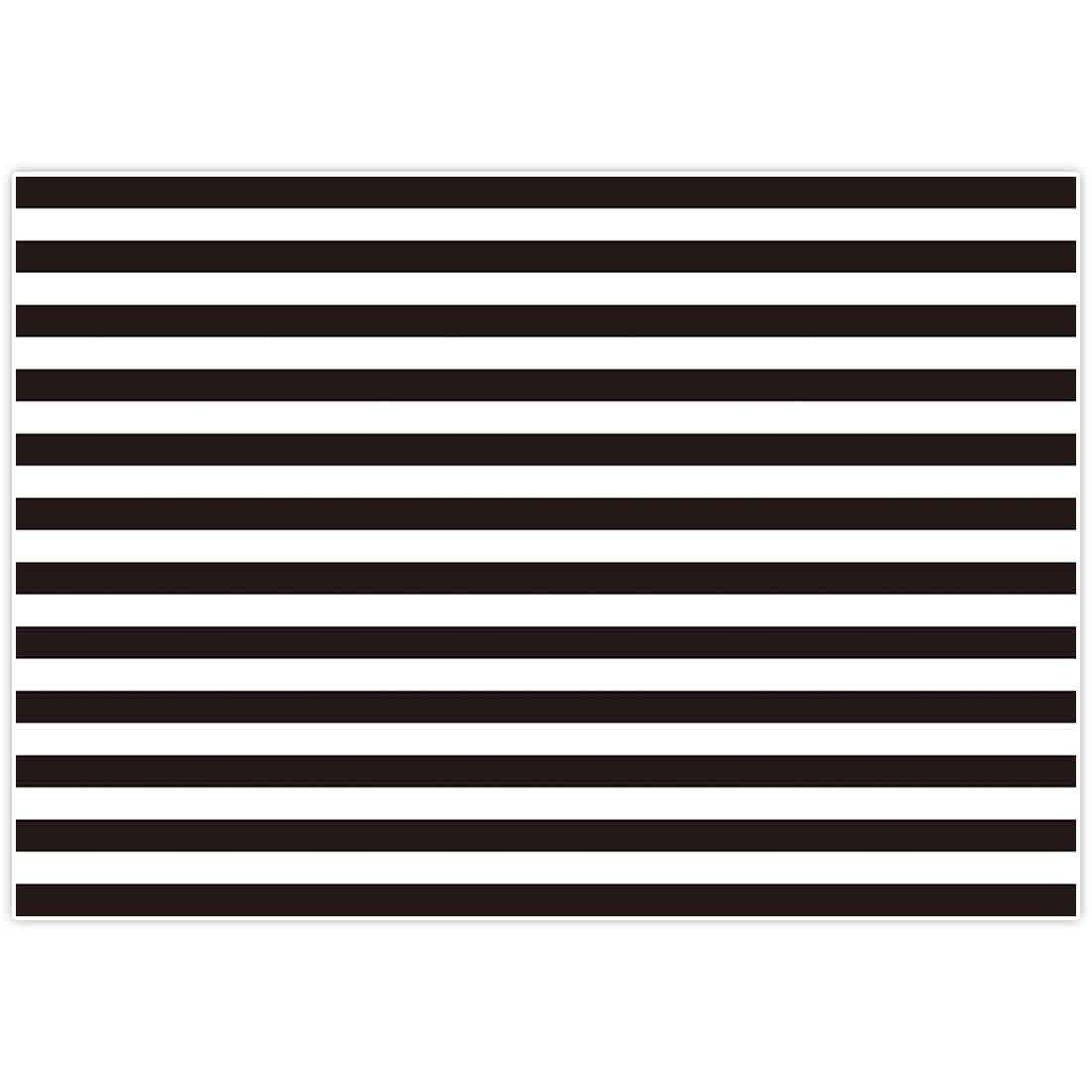Allenjoy 7x5ft Fabric Photography backdrops Christmas Geometric Black and White Stripe Zebra Crossing line Banner Birthday Party Wedding Decoration Photo Studio Booth Newborn Baby Shower Background by Allenjoy