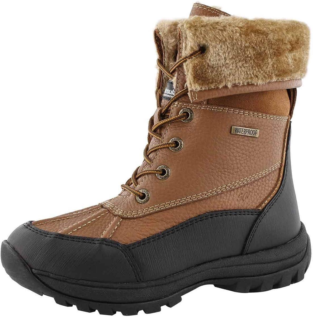 SoftMoc Womens Shakira 3 Foldover Cuff Waterproof Boot