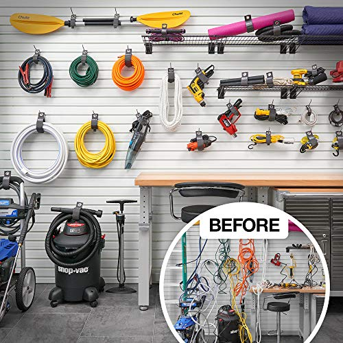 HOSES ROPE STORAGE  HOOKS 10 PIECE PACK ORGANIZER HANGERS FOR BIKES