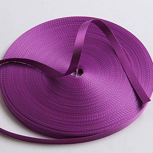- Guangzhou Liman Webbing, Ribbon Purple Nylon Grosgrain Webbing Decoration Strap DIY Belt 9 mm Available in 50 Yards