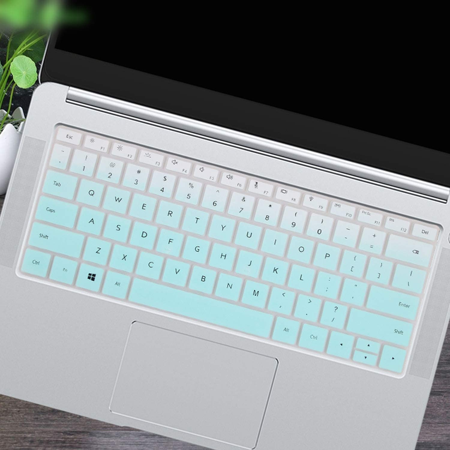 for Huawei Matebook D 14 Inch Notebook D14 14.0 Silicone Laptop Keyboard Cover Protector Skin-in Keyboard Covers from Computer /& Office,Fadepink AMD