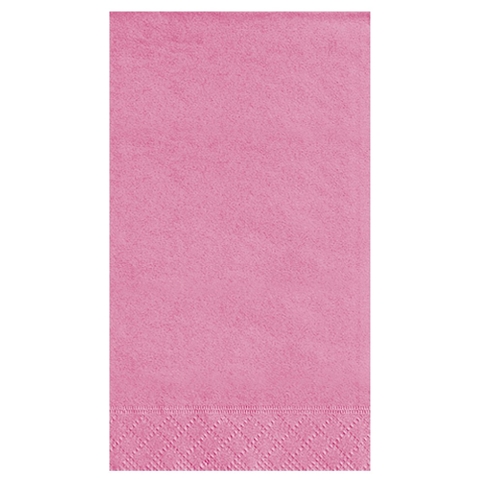 Hot Pink Paper Guest Napkins, 20ct by Unique