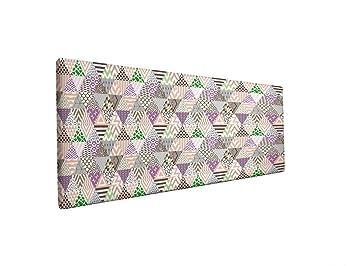 SUENOSZZZ- Cabecero Tapizado Tejido Jacquard Dogma (Camas 105 cm) Medida: 115 x 120 cm.: Amazon.es: Hogar