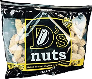 D's nuts In Shell 6oz Bag