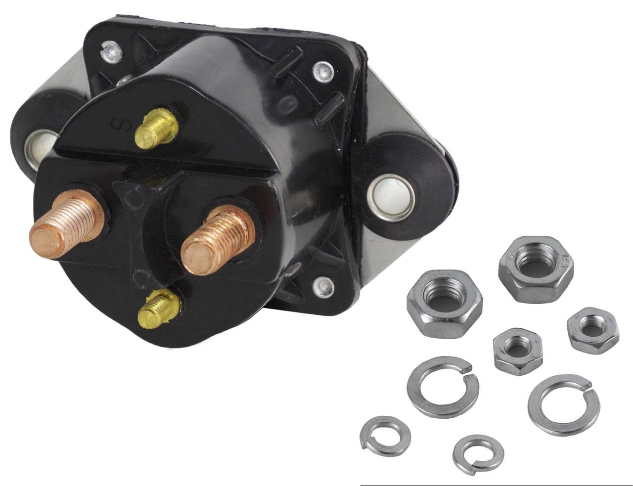 New Starter Solenoid Fits Mercury Marine 65 75 80 90 100 105 115 125 Hp Outboard Motor Wiring Diagram 135 V150 18 5834 Solenoids Amazon Canada