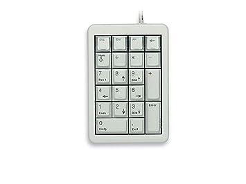 CHERRY G84-4700 teclado numérico USB Portátil/PC Gris - Teclados numéricos (USB