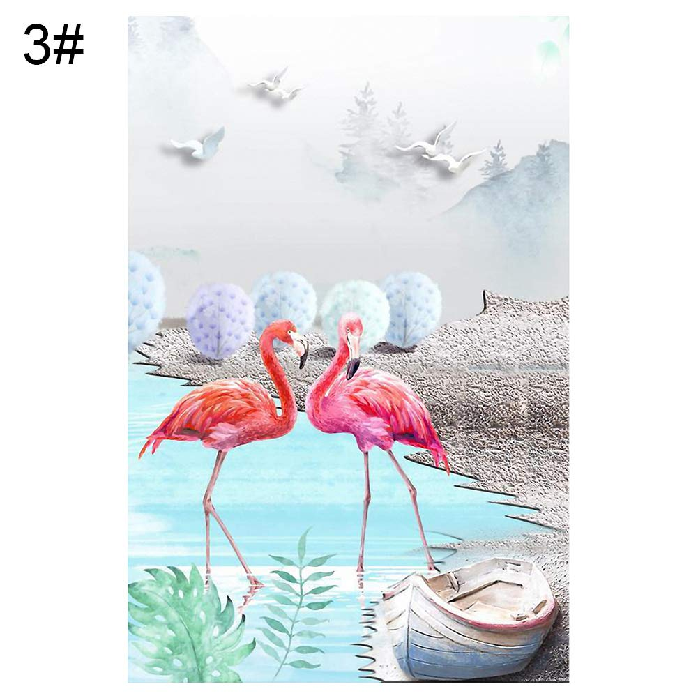 Lx10tqy Modern Flamingo Plant Canvas Painting Wall Art Living Room Bedroom Home Decor 3# 4050cm