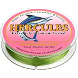 HERCULES for Her Cost-Effective Super Cast 4 Strands 300M Braided Fishing Line 6LB to 100LB Test for Salt-Water, 328 Yards, D