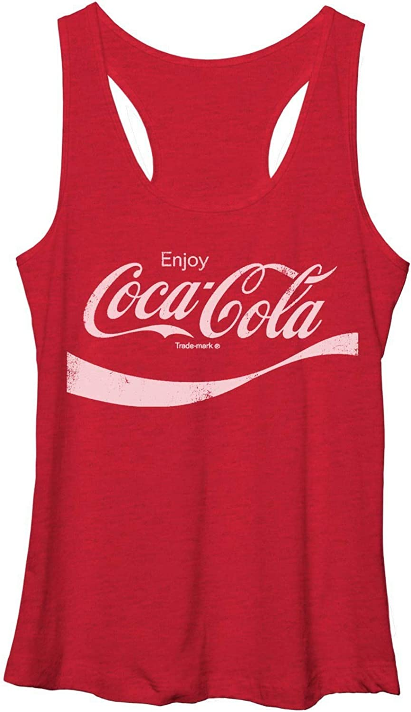 Coca-Cola Classic Logo Coke Womens Tank Top