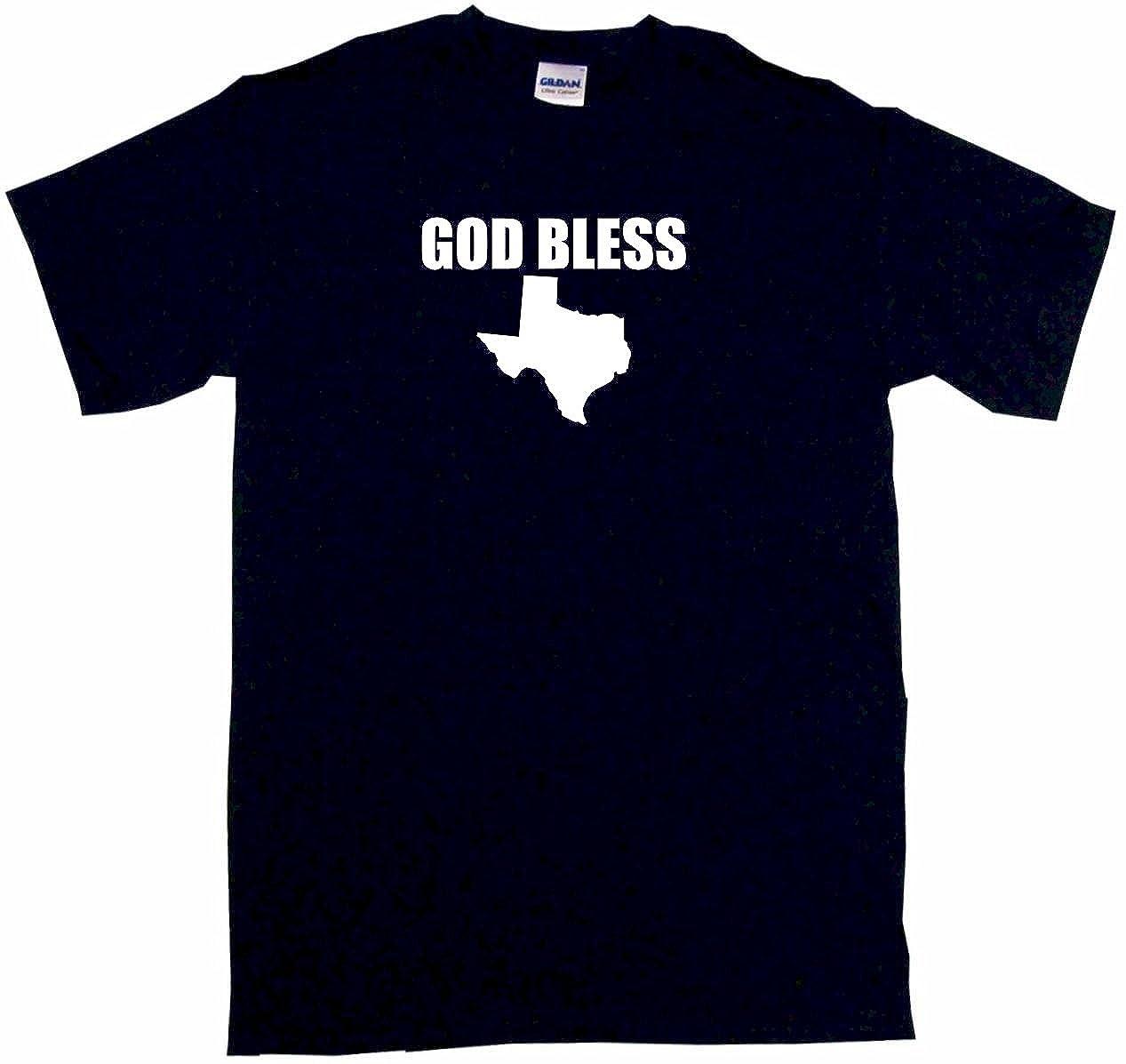 God Bless Texas Silhouette Little Boy's T