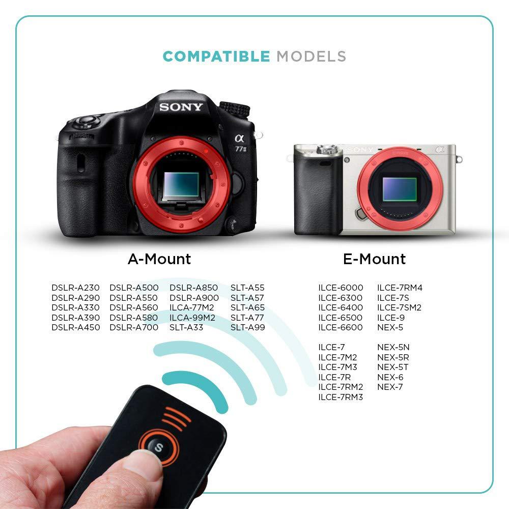 Foto & Tech 3 pcs IR Control remoto inalámbrico para cámaras Sony ...