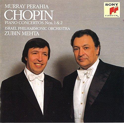 ズービン・メータ(指揮) マレイ・ペライア(ピアノ) / フレデリック・ショパン:ピアノ協奏曲第1番、第2番
