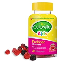 Culturelle Kids Daily Probiotic Gummies - Prebiotic + Probiotic - from The #1 Pediatrician...
