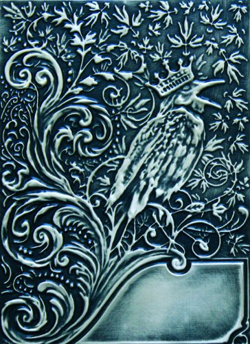 Spellbinders E3D-008 Noble Rook Embossing Folder (Majestic Birds Plate)