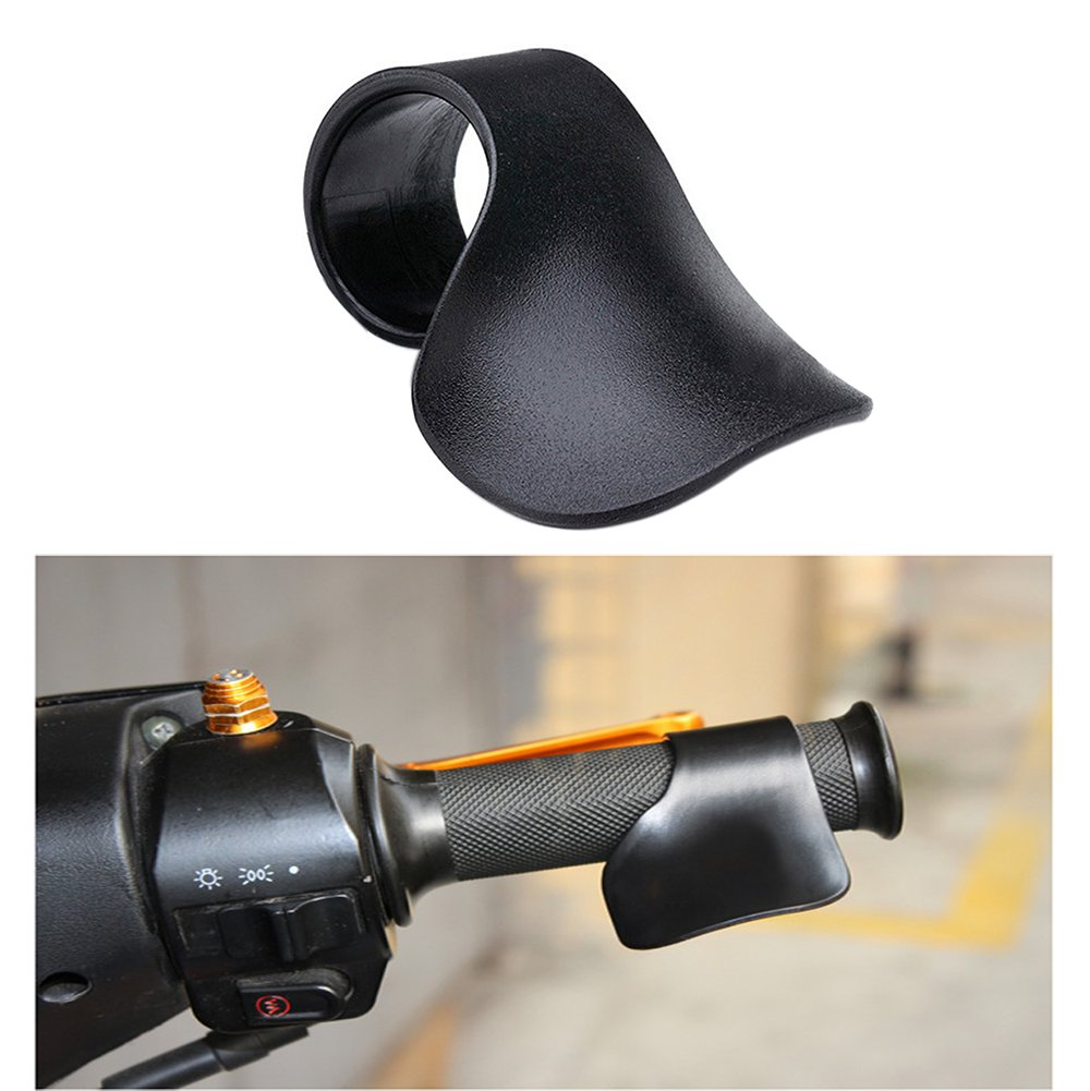 Finoki Motorcycle Throttle Grip Motorcycle Cruise Control Thumb Rest Riding Aid Motorcycle Accessories