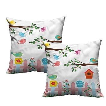 Amazon.com: ParadiseDecor - Funda de almohada para cojín de ...