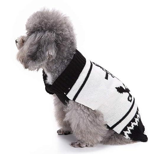 XDDQ Perro Trajes De Navidad Ropa Gato Cosplay,Invierno Y Mascotas Disfraz Perro Marino Marinero Sweater OtoñO Vestido De Traje De Navidad: Amazon.es: ...