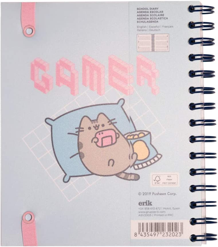 Pusheen A5 Academic Diary 2020-2021 Week To View Erik 12 Months