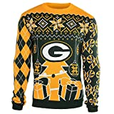 NFL Mens Holiday Ugly Christmas Tree & Ornament Sweater
