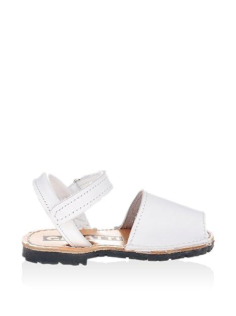 580c3a6c6 GARATTI Sandalias Pr0051 Blanco Blanco EU 24  Amazon.es  Zapatos y  complementos