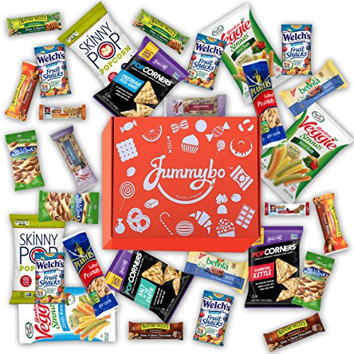 Healthy Snack Variety by Jummybo - Snack Gift Box