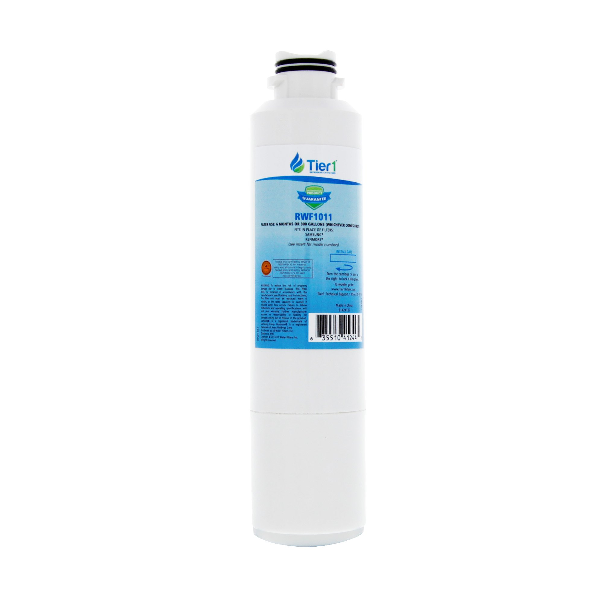 Tier1 Replacement Samsung DA29-00020B, DA29-00020A, HAFCIN/EXP, HAFCIN, 46-9101, DA97-08006A-B Refrigerator Water Filter