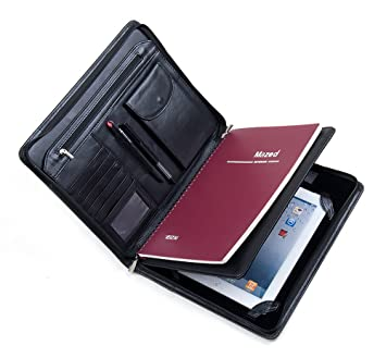 Amazon.com: Deluxe Leather iPad Air 2 / iPad Air Business ...