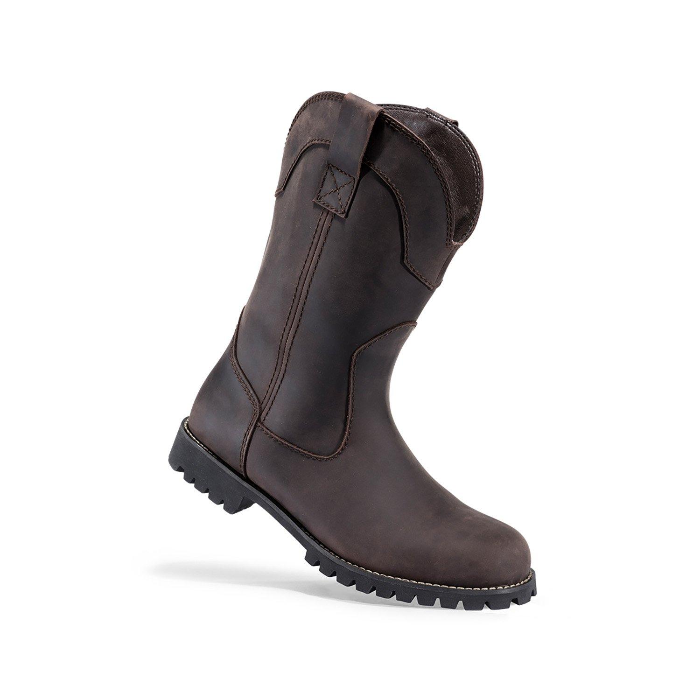 Browning Mens Watson Plain Toe Wellington Leather Boots, Bracken/Bracken, 9M, F000006820130