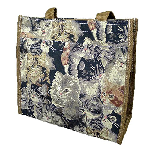 Signare 312-Cat Cat Tapestry Shopper,